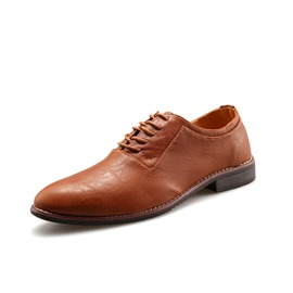 Ericdress Office PU Pointed Toe Men's Oxfords