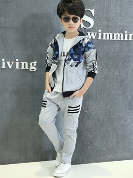Ericdress Casual Floral Boys Outfit