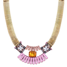 Ericdress European Alloy Rhinestone Necklace