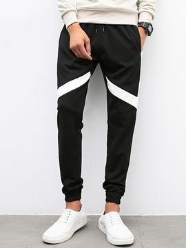 Ericdress Classic Color Block Casual Men's Pants