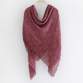 Ericdress Artistic Pure Color Scarf