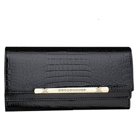 Ericdress Double Layer Crocodile Wallet