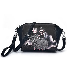 Ericdress Cartoon Print Shell Crossbody Bag