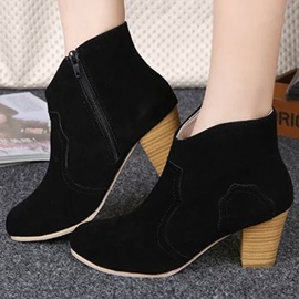 Ericdress Elegant Suede Ankle Boots