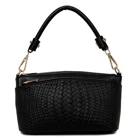 Ericdress Weaved Embossed Shoulder Bag