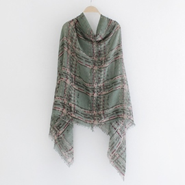 Ericdress Multifunction Grained Print Scarf