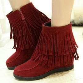 Ericdress Sweet Tassels Ankle Boots