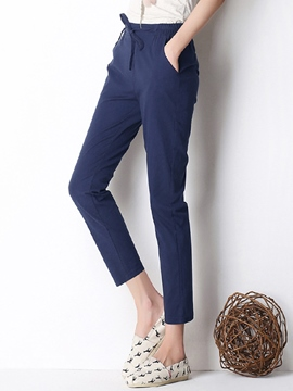 Ericdress Casual Nine Points Pants