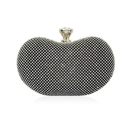 Ericdress Unique Shape Diamante Evening Clutch