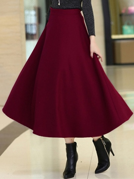 Ericdress Simple Elegant Skirt