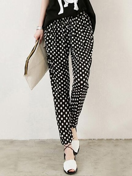 Ericdress Unique Polka Dots Harem Pants