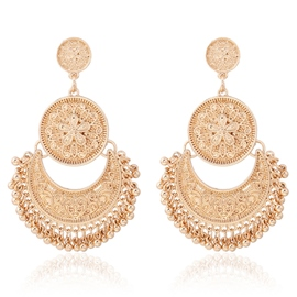 Ericdress Alloy Ball Pendant Earrings