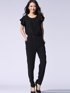 Ericdress Loose Casual Jumpsuits Pants