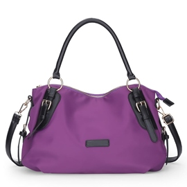 Ericdress Waterproof Color Block Handbag