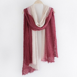 Ericdress Gradient Wrinkle Scarf