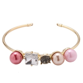 Ericdress Gold Plated Pearls Decorated Bracelet