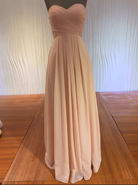 Ericdress Simple Sweetheart A Line Long Bridesmaid Dress