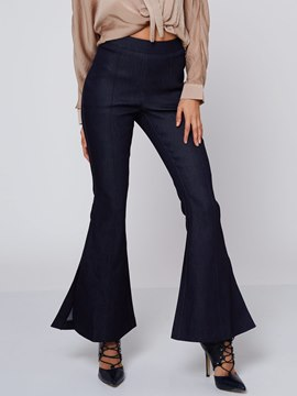 Ericdress Unique Split Flare Pants