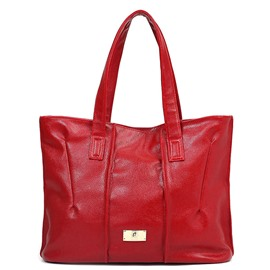 Ericdress Graceful Wrinkle Decorated Tote Bag