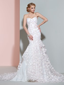 Ericdress Beautiful Sweetheart Color Mermaid Wedding Dress