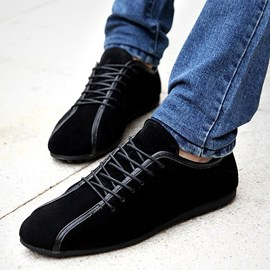 Ericdress Trendy Suede Lace up Men's Casual Shoes