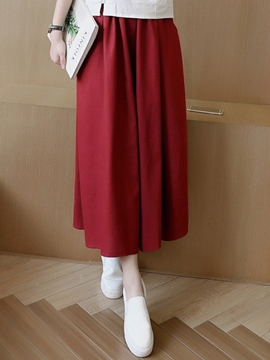 Ericdress Simple Pastoral Pants