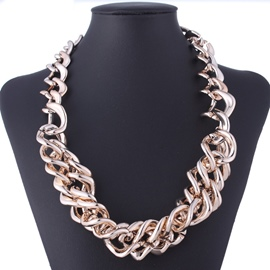 Ericdress Gold Chain Necklace