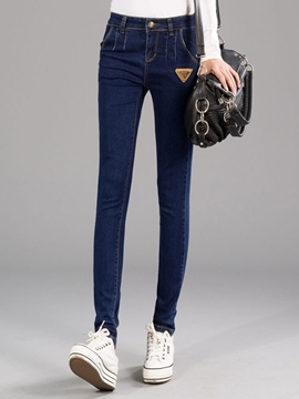 Ericdress Fashion Skinny Jeans