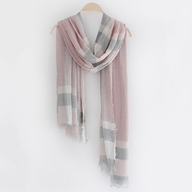 Ericdress Vogue Plaid Print Scarf