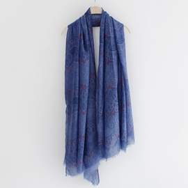 Ericdress Lace Print Cashmere Scarf