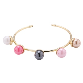 Ericdress Charming Alloy Pearls Inlaid Bracelet