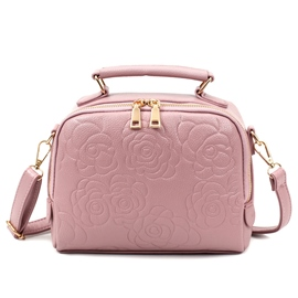 Ericdress Rose Embossed Shoulder Bag