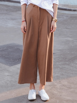 Ericdress Straight Leisure Pants