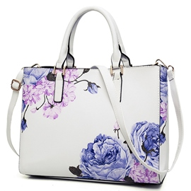 Ericdress Blue And White Porcelain Print Handbags(2 Bags)