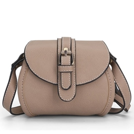 Ericdress Casual Belt Decorated Crossbody Bag