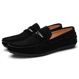 Ericdress Breathable Thread Men's Moccasin Gommino