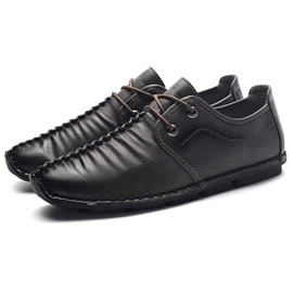 Ericdress PU Plain Thread lace-Up Men's Casual Shoes