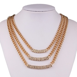 Ericdress Multilayer Chain Necklace