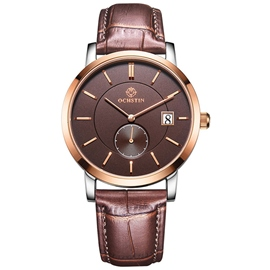 Ericdress Fashion Leather Men's Alloy Watch