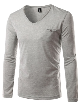 Ericdress Crew Neck Casual Men's T-Shirt
