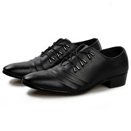 Ericdress Thread Point Toe Low Cut Men's Oxfords