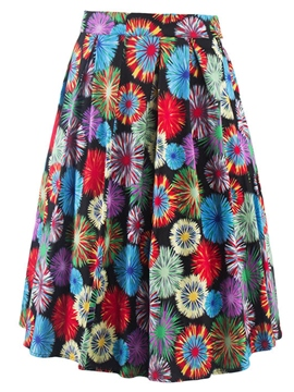 Ericdress Unique Print Usual Skirt