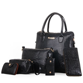 Ericdress Vintage Croco-Embossed Handbags(6 Bags)