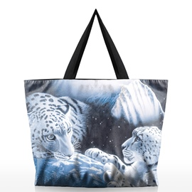 Ericdress Vivid Tiger Print Tote Bag