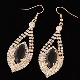 Ericdress Sweet Shining Rhinestone Earrings