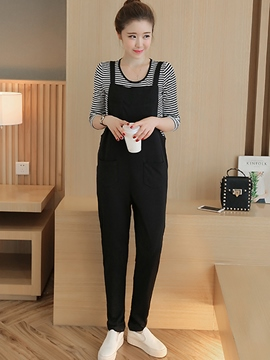 Ericdress Casual Suspender Pants Suit