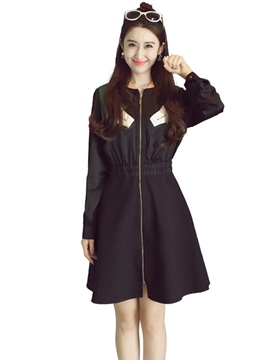 Ericdress Autumn Long Sleeve A-Line Casual Dress