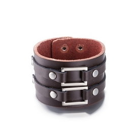 Ericdress Leather Vintage Style Men's Bracelet