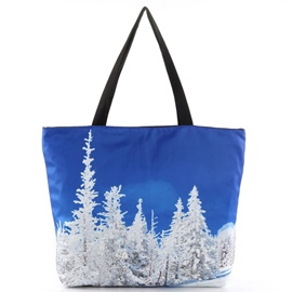 Ericdress Cedarwood Print Tote Bag