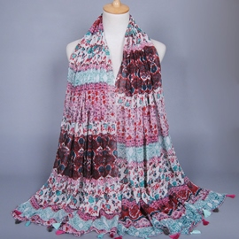 Ericdress Ethnic Style Printed Scarf